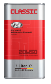 RZ Classic 20W50 - Mild legiert
